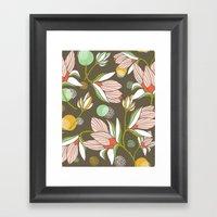 Magnolia Blossom Framed Art Print