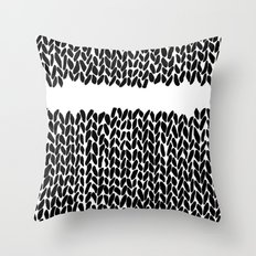 Missing Knit     Throw Pillow