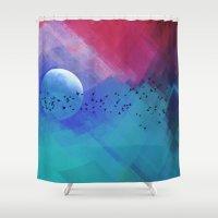 Dream Night Shower Curtain