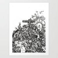 Mound II (from 'The Patriot's Daughter') Art Print