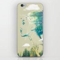 Geo Forest iPhone & iPod Skin