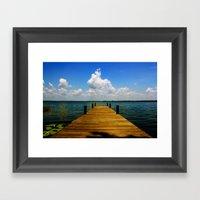 FL Framed Art Print