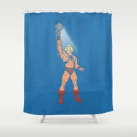 POWER MIRROR Shower Curtain