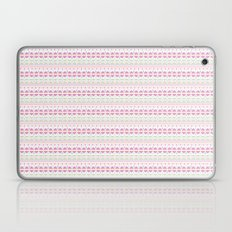 Aztec pretty in white and pink Laptop & iPad Skin
