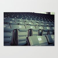Wrigley Field Stadium Seats 1 Canvas Print