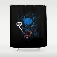 Batzombie Shower Curtain