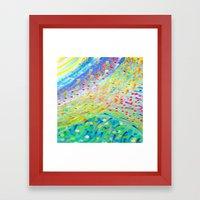 Sparkle Abstract Framed Art Print