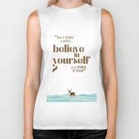 Believe In Yourself Biker Tank