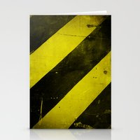 Warning II! Stationery Cards