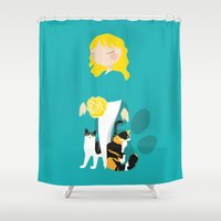 Endo Paw Pals Shower Curtain