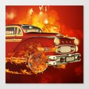 Red car Canvas Print