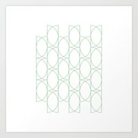 #142 Forty-two Semicircl… Art Print