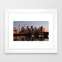 Vauxhall Twilight Framed Art Print