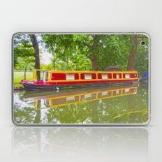 Canal Boat Painted Laptop & iPad Skin