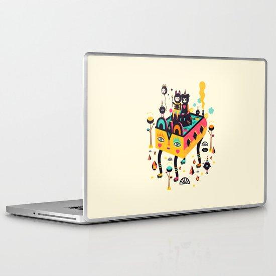 Hanging around! Laptop & iPad Skin