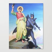 Temptation Of Robin Canvas Print