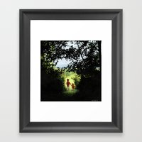 Hundred Acre Wood Framed Art Print