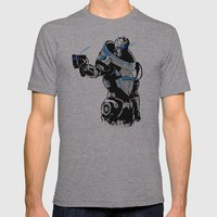 Garrus Vakarian Mens Fitted Tee Athletic Grey SMALL