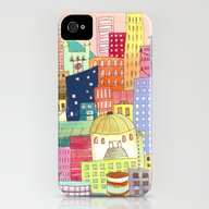 Downtown iPhone (4, 4s) Slim Case