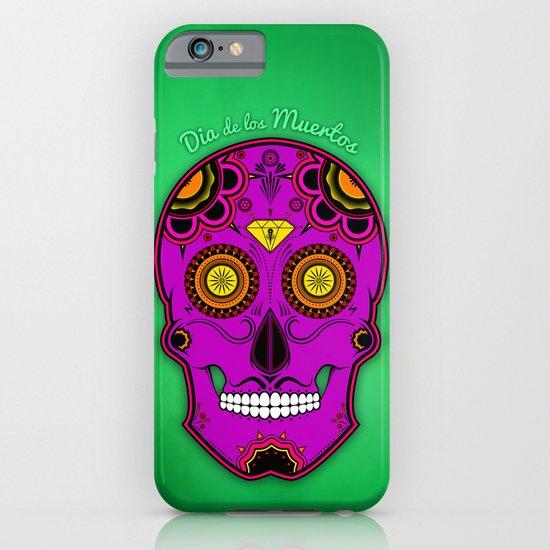 dia de los muertos (sugar skull) iPhone & iPod Case