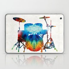 Drum Set Art - Color Fus… Laptop & iPad Skin