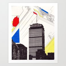 The Pru Art Print