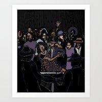 Robert Johnson Art Print