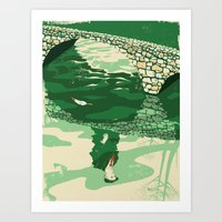 Herbert Warren Wind Art Print