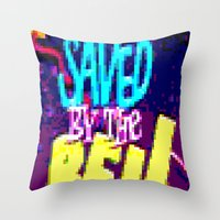 Saved By The Bell Throw Pillow