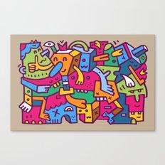 Crankola Squimp Canvas Print