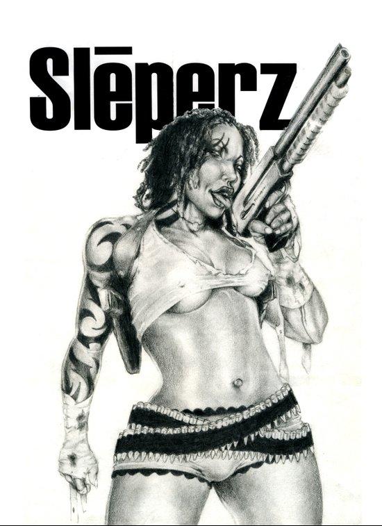 Sleeperz Graphic Novel Art Print