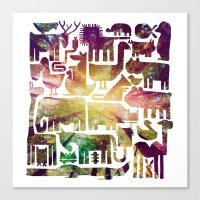 forestanimal Canvas Print