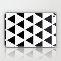 Sleyer Black On White Pa… Laptop & iPad Skin