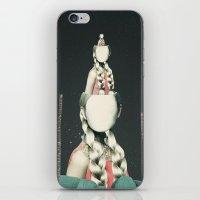 VIAJERA ESPACIAL // OBERHEIMI  iPhone & iPod Skin