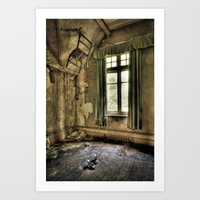 The Lone Shoes… Art Print