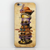 Hat Stack iPhone & iPod Skin