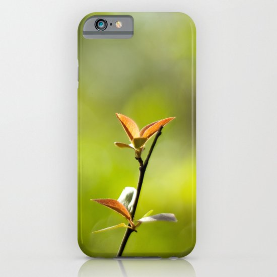 Spring Begins iPhone & iPod Case