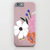 iPhone & iPod Case featuring winter floral by lisa rupp