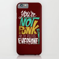 Not Punk iPhone 6 Slim Case