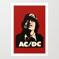 Cd-ca Art Print