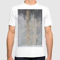 SIMENT Mens Fitted Tee White SMALL