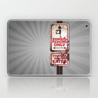 Zombie Parking Only Laptop & iPad Skin