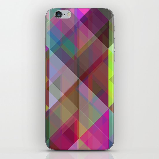 Winter Geometric 2 iPhone & iPod Skin
