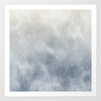 Blue Dream Abstract Art Print
