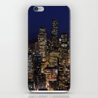 iPhone & iPod Skin featuring Quiet In My Town by lokiandmephotography