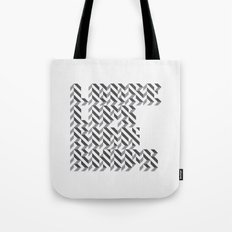 loose lips sink ships dazzle typography Tote Bag