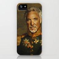 Sir Tom Jones OBE iPhone (5, 5s) Slim Case