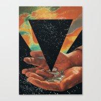 disruption of his world... (Paradise) Canvas Print