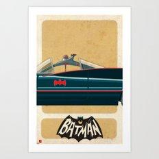 Batmobile 66 part II of III Art Print