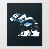 Winter Bear Canvas Print